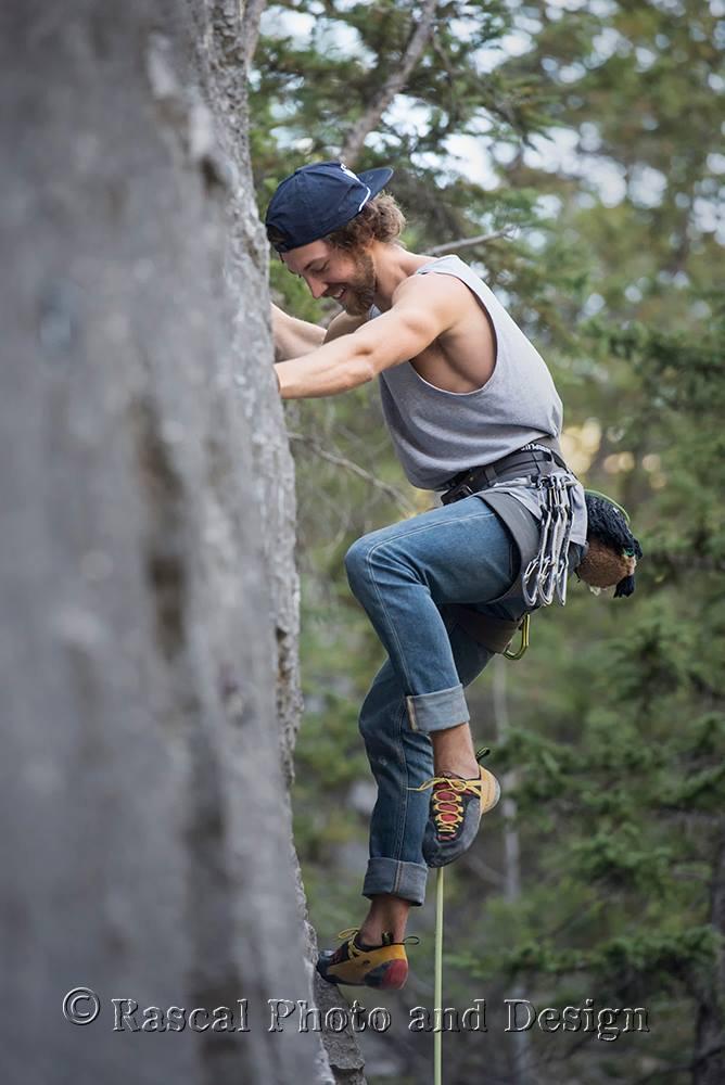 Learn to lead sport climb
