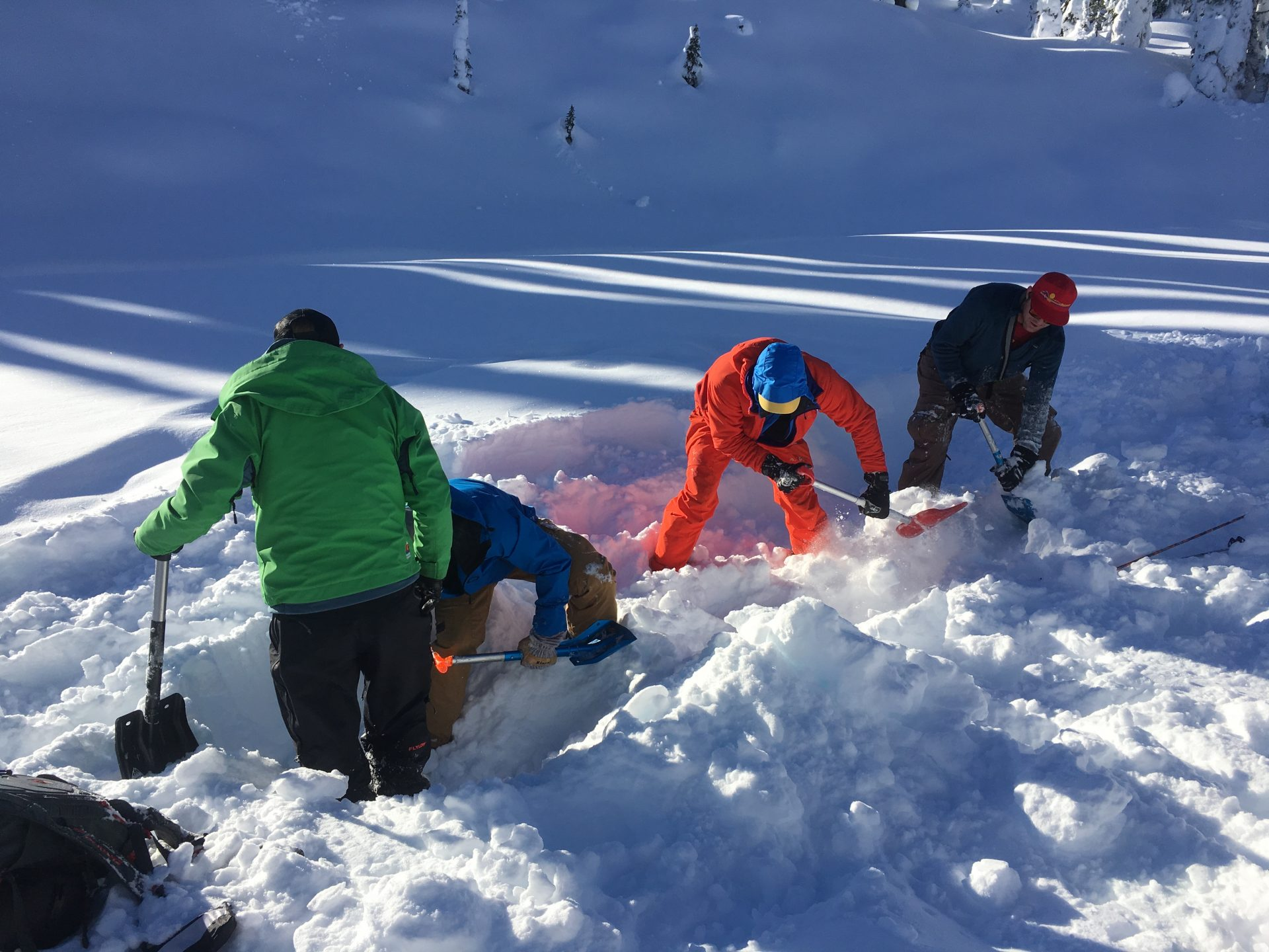 Learning Avalanche Rescue Skills